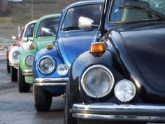 VW Beetle Colorful