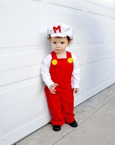 Super Mario Bros inspired costume fire power kid child children boys baby babies toddler  halloween costumes school event birthday party.. $95.00, via Etsy.