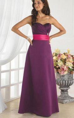 Cheap Sweetheart Floor-length Zipper Natural A-line Bridesmaid Dresses Free Measurement