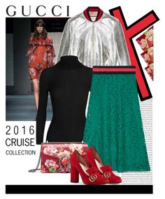 """""""GUCCI 2016 Cruise Collection"""" by julietacelina on Polyvore featuring Gucci, gucci and polyvoreeditorial"""