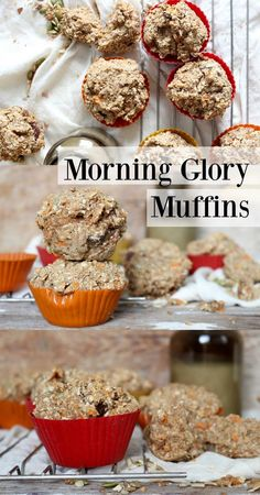 Healthy muffins loaded with nutrients that are #vegan and #glutenfree!