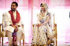 Stunning lehnga! Athena Kalindi Photography via South Asian Bride Magazine