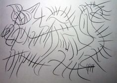 """Mostro felino"" 2012 Matita su carta 21x29,5 ©Pietro Gargano"