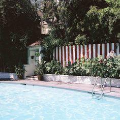 Chateau Marmont Pool, 2012.