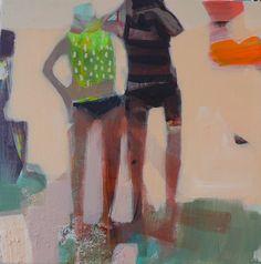 becky blair * artist - paintings: salty eyes