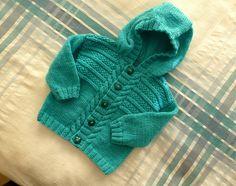 Ravelry: sofiecat's Kingfisher hoodie