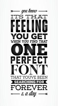 Typography.   # Pinterest++ for iPad #