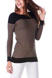 Lamesa Striped Sweater $38