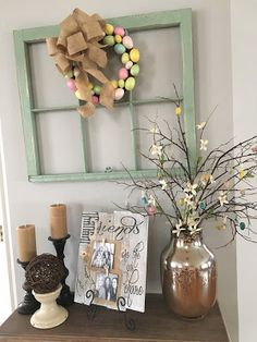 Easter wreath for your front door | Easter decor | Pinterest ...