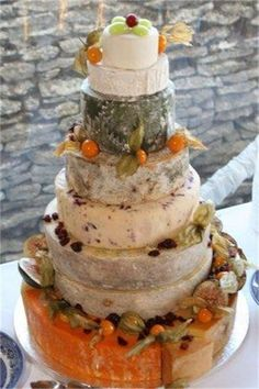 Premier Wedding Cheese Cakes - Lizzy's cake
