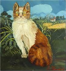 antonio ligabue - Cerca con Google Henri Rousseau, Art Addiction, Raining Cats And Dogs, Here Kitty Kitty, Naive Art, 2d Art, Pretty Cats, Art Festival, Crazy Cats