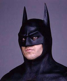 Michael Keaton cowl from Batman Batman Comics, Batman And Superman, Batman Robin, Batman Stuff, Dc Movies, Comic Movies, Comic Books, Batman Painting, Batman Artwork