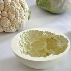 'Reversed Volumes' from Mischer'Traxler Creates Vegetable Bowls #ceramic trendhunter.com