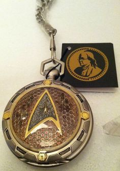 STAR TREK FRANKLIN MINT PRECISION POCKET WATCH NEW IN BOX W/ CASE SUPER RARE | the Star Trek Collectionary