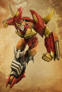 Transformers - Rodimus