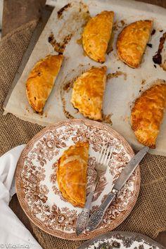 Cornish Pasties with steak, sweet potato and butternut squash (hand pies)