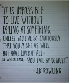you always right j.k rowling