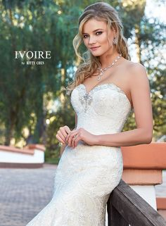 Wedding Dresses | Bridal Gowns | KittyChen Couture - Nicola