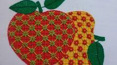 bordados de servilletas - YouTube