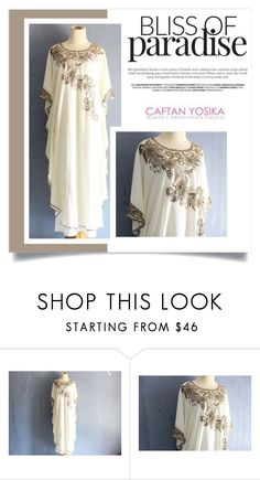 """""""Caftan Yosika 18"""" by amra-mak ❤ liked on Polyvore featuring caftanyosika"""