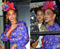 Beyonce and Blue Ivy - Photos - Stars on Halloween 2014 - NY Daily . Halloween Hair, Halloween 2014, Halloween Costumes, Natural Hair Care, Natural Hair Styles, Beyonce Costume, Celebrity Costumes, Blue Ivy, Lifestyle Trends