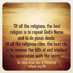 "Facts about guru nanak. Sikhs and sikhism believes in humanity. And the sikh literally means ""disciples"" of god. Guru Granth Sahib Quotes, Shri Guru Granth Sahib, Sikh Quotes, Gurbani Quotes, Qoutes, Spiritual Awakening, Spiritual Quotes, Guru Angad Dev Ji, Guru Arjan"