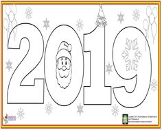 Next Post Previous Post Happy New Year Coloring Page Frohes neues Jahr Colroing Seite New Year's Crafts, Diy And Crafts, Crafts For Kids, Spiritual Symbols, Religious Symbols, Noel Christmas, Christmas Crafts, Noel Gifts, New Year Coloring Pages