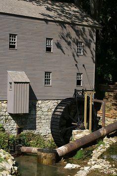 Beck's Mill Waterwheel & Turbine