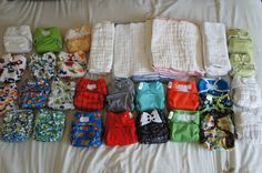 Tips on cloth diapering
