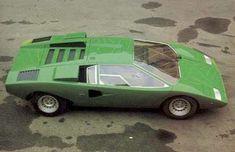 1971 Lamborghini Countach por Bertone