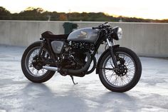 motographite: HONDA CB450 A RACER IN 14 SHADES OF GRAY
