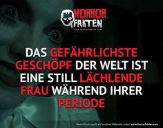 Wenn Sie falsch lächelt… LAUF #horrorfakten