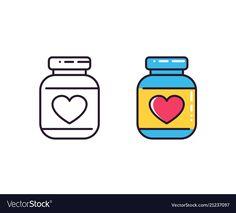 Bottle of pills icons on white vector image on VectorStock Infographic Website, Icon Design, Web Design, Pill Bottles, Single Image, Pills, Adobe Illustrator, Vector Free, Pdf