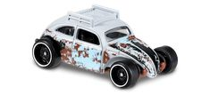View details and collect the Hot Wheels Custom Volkswagen Beetle racecar in Grey. Part of the VOLKSWAGEN series. Custom Hot Wheels, Hot Wheels Cars, Beetle Car, Vw Group, Collector Cars, Kustom, Diecast, Race Cars, Volkswagen