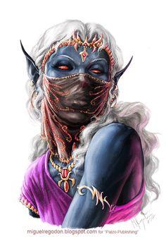 Female dark elf
