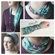 Excited to share the latest addition to my #etsy shop: Silk scarf-necklace - velvet rose emerald green background - hand painted silk neckerchief & necklace - infinity scarf - scarf jewelry https://etsy.me/2G7683g #accessories #scarf #green #birthday #purple #pendantsc