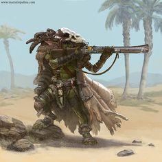 Goblin hunter on Behance