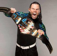 WWE United States Champion Jeff Hardy