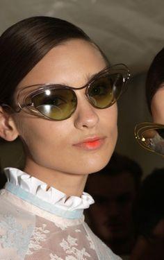 ff9bae2f78 Backstage London Fashion Week Spring Sunglasses