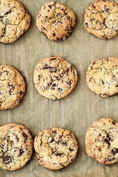 Chocolate Chip Cookies 〖The Very Best〗 - einfach backen - Chocolate Chip Cookies 〖The Very Best〗 Chocolate Chip Cookies - Chocolate Chip Cookies Rezept, Chocolate Cookie Recipes, Best Chocolate Chip Cookie, Easy Cookie Recipes, Chocolate Desserts, Cake Recipes, Snack Recipes, Dessert Recipes, Snacks
