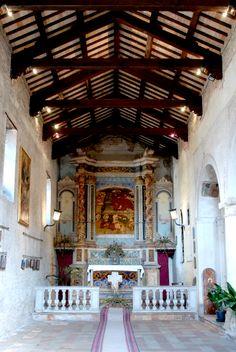 Chiesa di S. Giovanni Battista ed Evangelista,interno. #marcafermana #monterubbiano #fermo #marche
