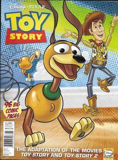 Disney Toy Story Magazine Pixar Movie Adaptation Woody Buzz Lightyear Jessie Rex for sale online Vintage Disney Posters, Vintage Comics, Disney Toys, Disney Art, Disney Pixar, Toy Story, Wallpaper Iphone Disney, Pixar Movies, Old Cartoons