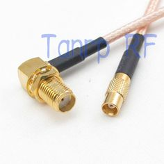 4.44$  Buy here - http://alimgt.shopchina.info/go.php?t=32298498908 - 8in MCX female jack to SMA female jack right angle RF adapter connector 20CM Pigtail coaxial jumper cable RG316 extension cord 4.44$ #magazineonlinewebsite