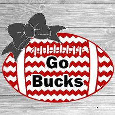 Ohio State Buckeyes Football svg football by TiffsCraftyCreations
