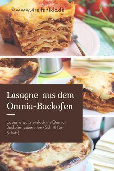 Lasagne ist ein absolutes Klassiker. Hier kannst du erfahren, wie man diesen Klassiker im Omnia-Backofen zubereitet. Ganz einfach Schritt-für-Schritt erklärt!