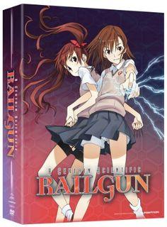 Certain Scientific Railgun, A Season 1 DVD Part 1 (Hyb) Limited Edition #RightStuf2013