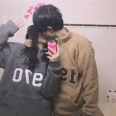 Pin by тιffαиу ™ on ♡ l o v e in 2019 ulzzang couple, ulzzan Cute Relationship Goals, Cute Relationships, Ulzzang Couple, Ulzzang Girl, Cute Couples Goals, Couple Goals, Cute Korean, Korean Girl, Korean Couple