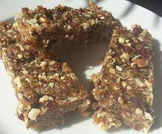 Rezept Super Food Riegel (vegan) von Missy Freckles - Rezept der Kategorie Desserts