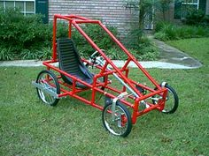 DIY Four Wheel Bike or pedal car. Plans and kits.