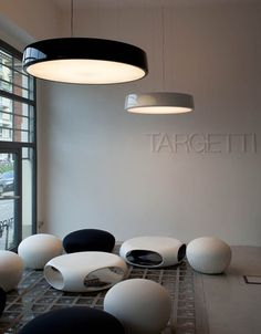 Targetti: Ercole, up/down, drum, suspended